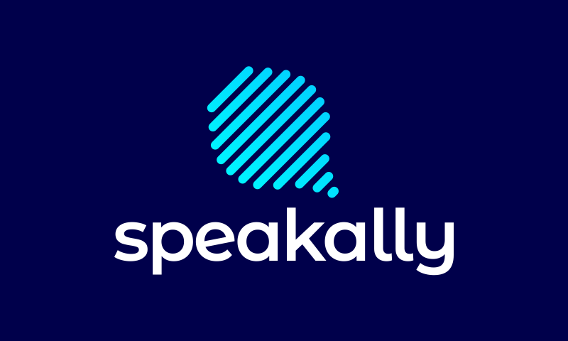 Speakally - Chat company name for sale
