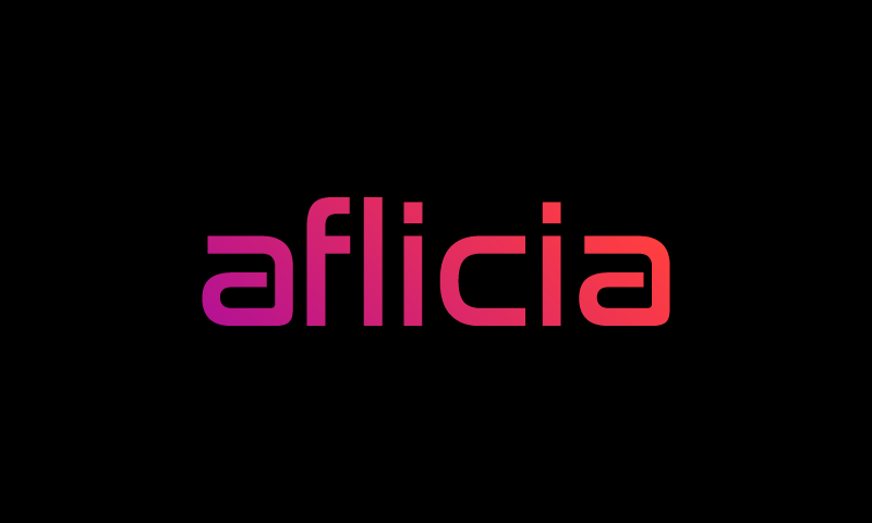 Aflicia - E-commerce domain name for sale