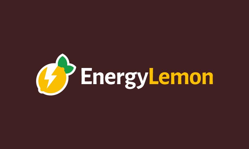 Energylemon - Healthcare startup name for sale