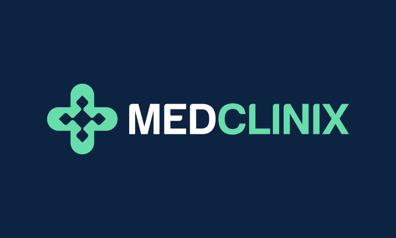 Medclinix - Healthcare company name for sale