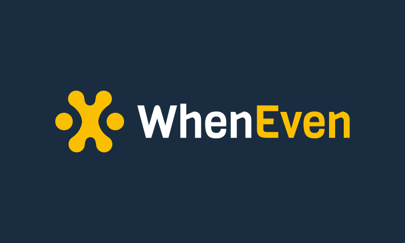 WhenEven logo