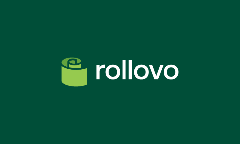 Rollovo - Retail startup name for sale