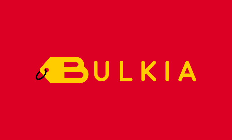 Bulkia - E-commerce startup name for sale