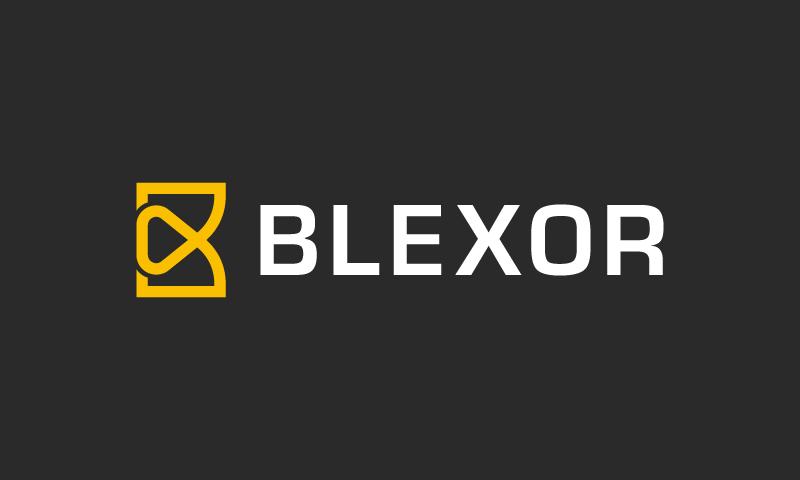 Blexor - E-commerce company name for sale
