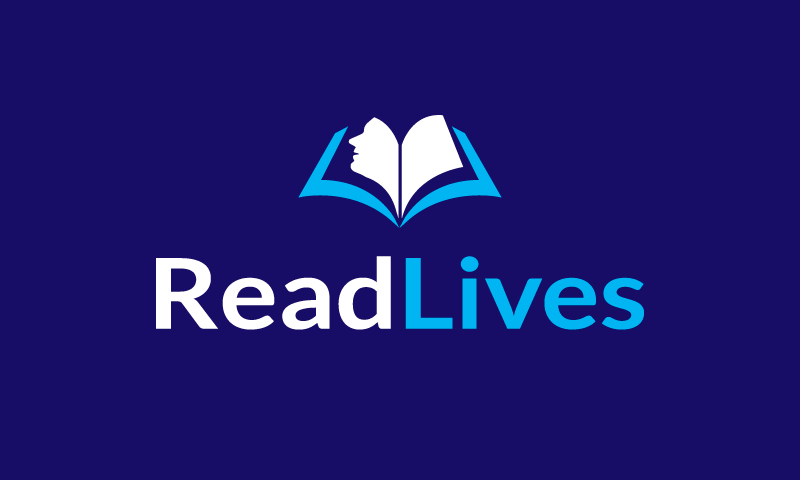 Readlives - Writing domain name for sale