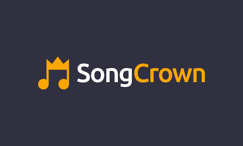 Songcrown - Music startup name for sale