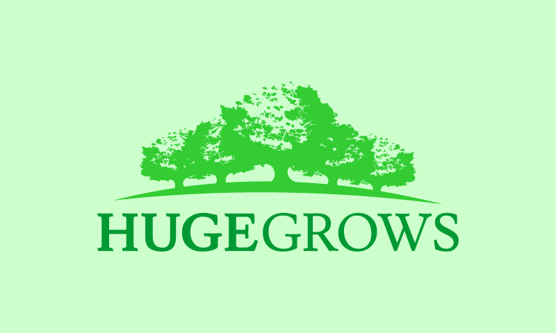 Hugegrows - Farming business name for sale