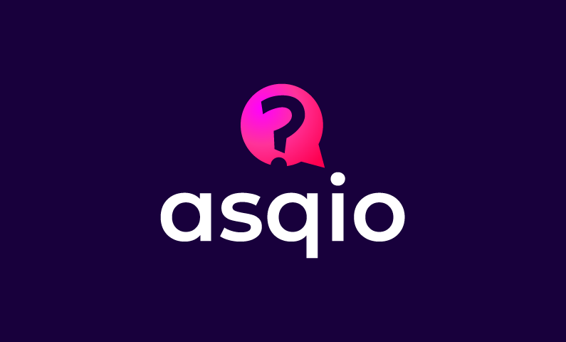 Asqio - Social networks startup name for sale