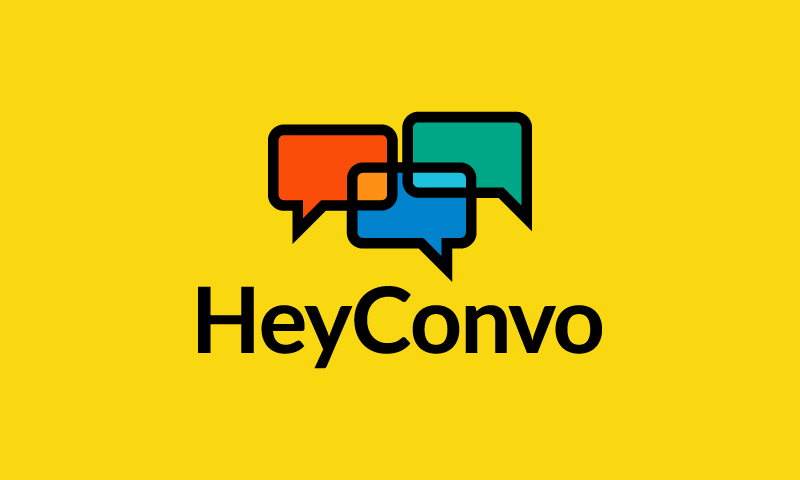 Heyconvo - Social networks brand name for sale