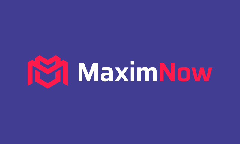 Maximnow - Potential business name for sale