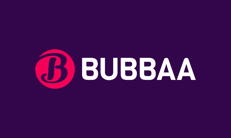 Bubbaa - Retail domain name for sale
