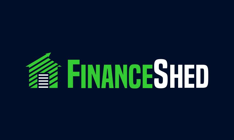 Financeshed - Finance brand name for sale