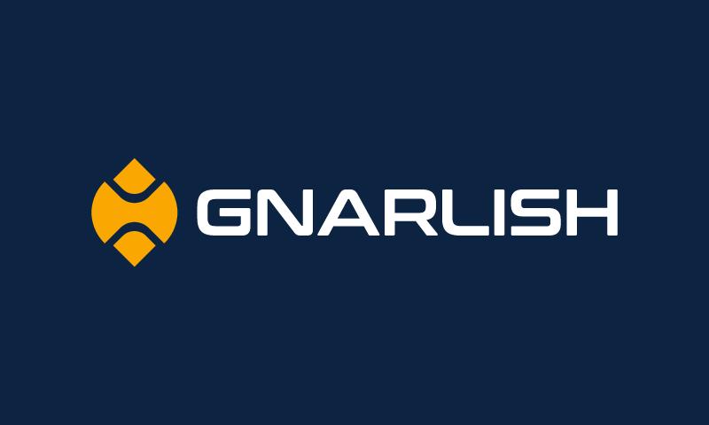 Gnarlish logo