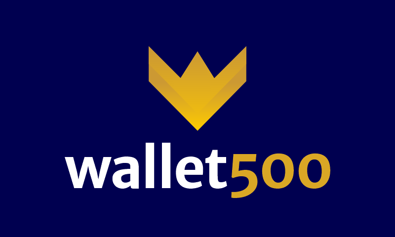 Wallet500 - Finance brand name for sale