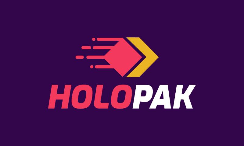 Holopak - Logistics startup name for sale