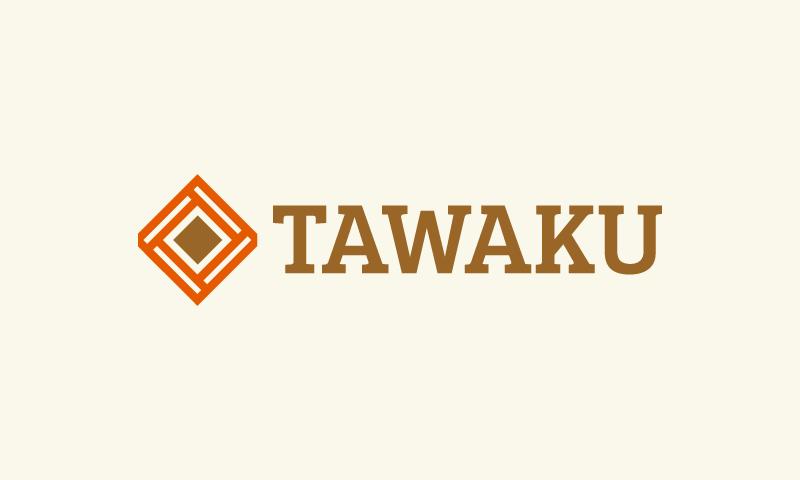 Tawaku - Music company name for sale
