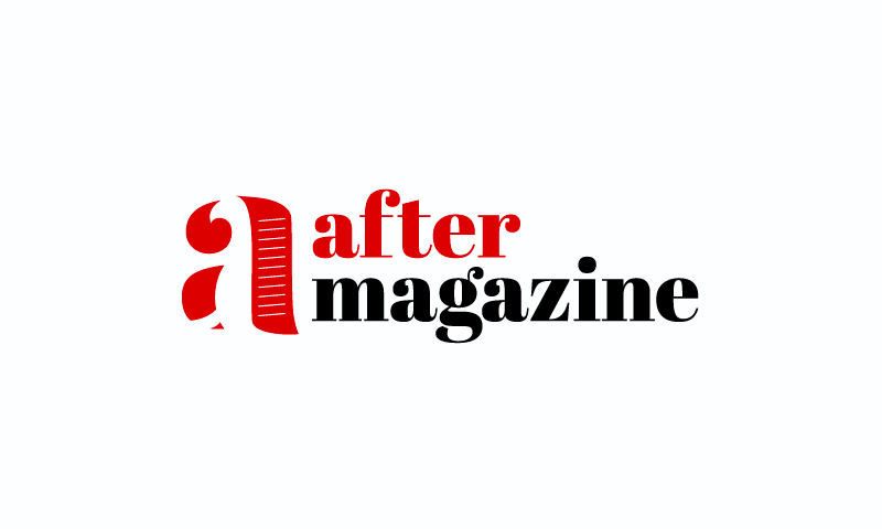 Aftermagazine - Writing brand name for sale