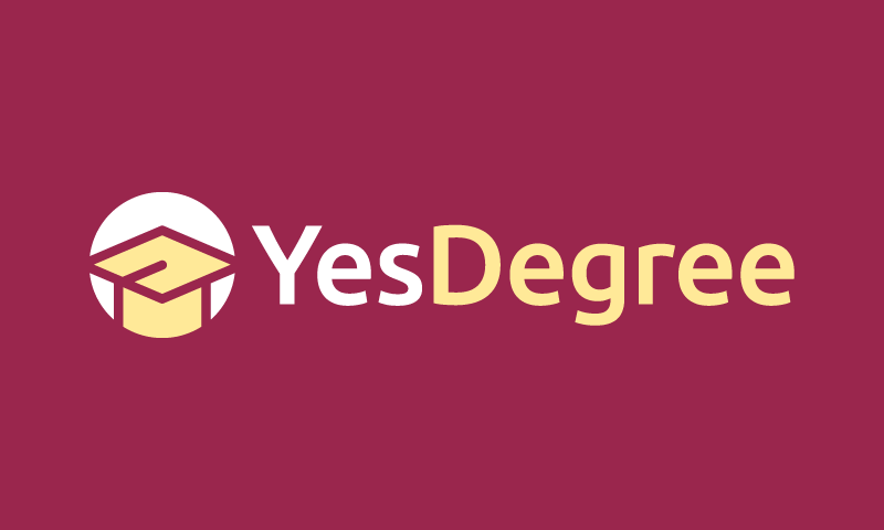 Yesdegree - E-learning business name for sale