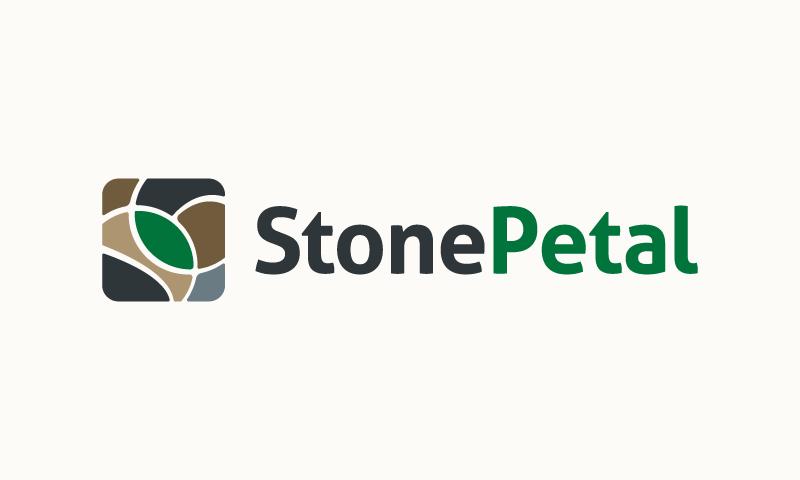 Stonepetal - E-commerce domain name for sale