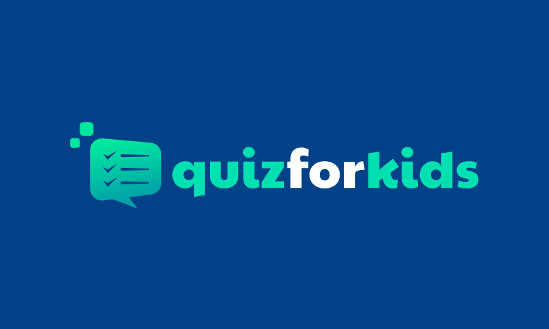 Quizforkids - Education business name for sale