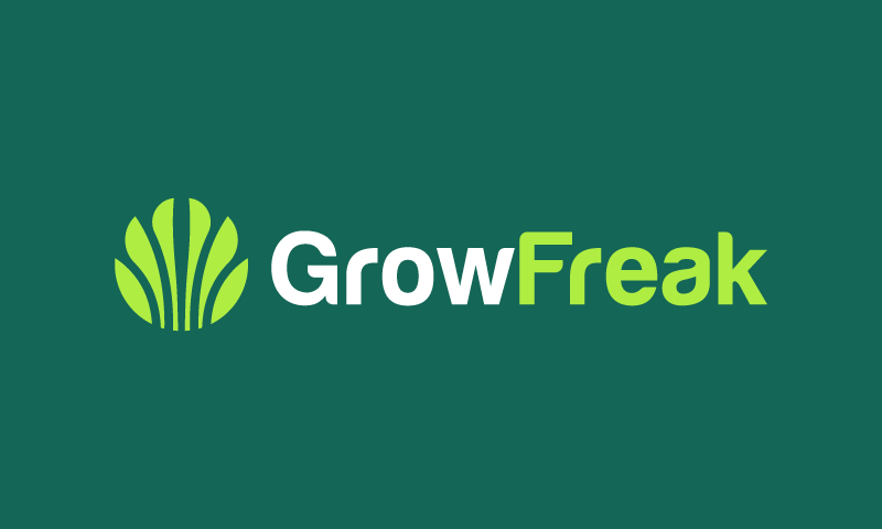 Growfreak - E-commerce company name for sale