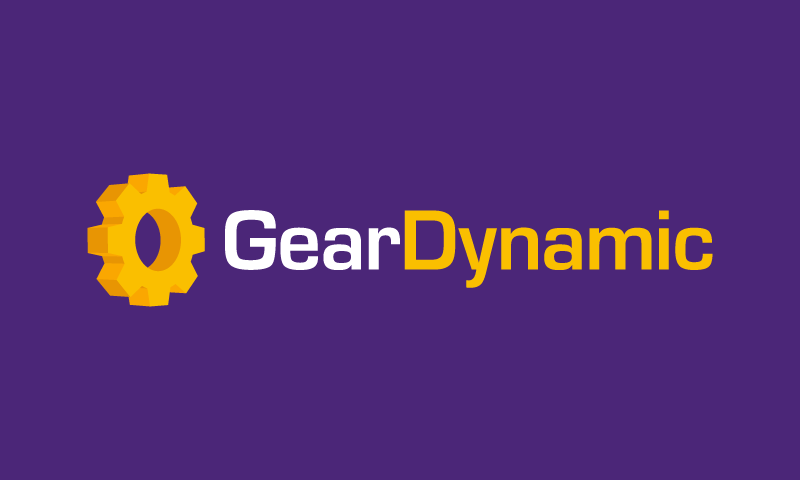 Geardynamic - E-commerce company name for sale
