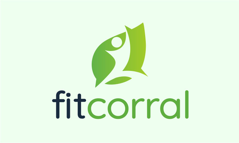 Fitcorral - Fitness startup name for sale
