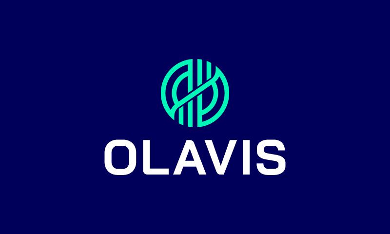 Olavis - Brandable startup name for sale