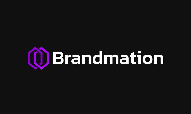 Brandmation - Marketing brand name for sale