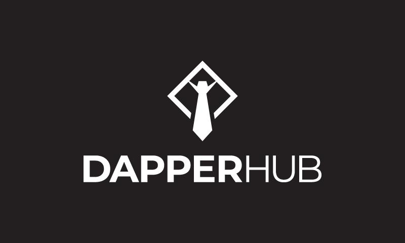 Dapperhub - E-commerce business name for sale