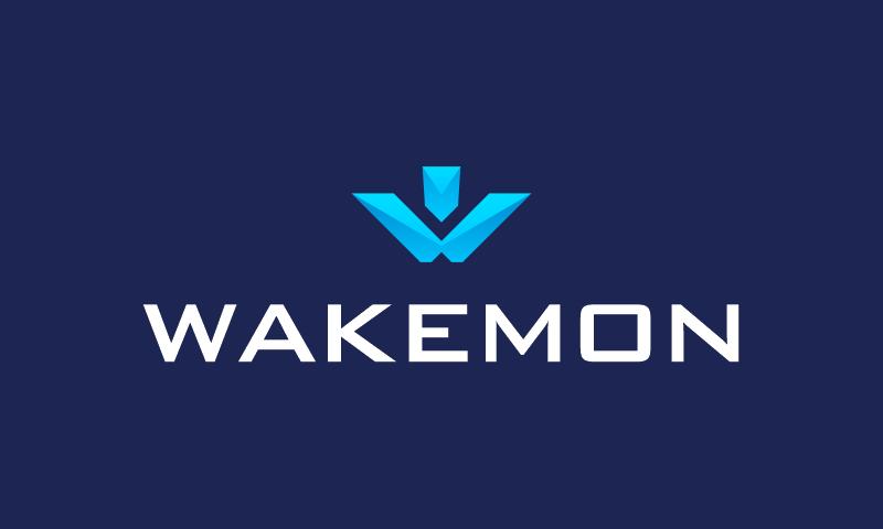 Wakemon - Finance startup name for sale