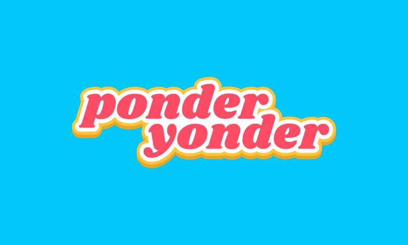 Ponderyonder