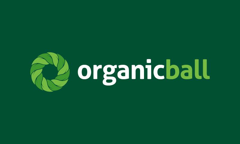 organicball logo