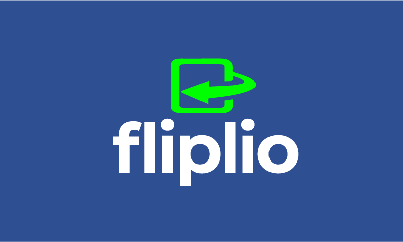 Fliplio - Technology brand name for sale