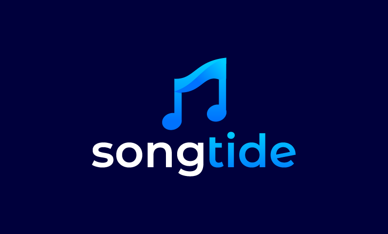 Songtide - Audio startup name for sale