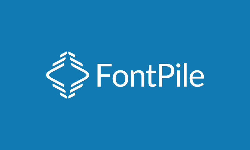 Fontpile - Design company name for sale
