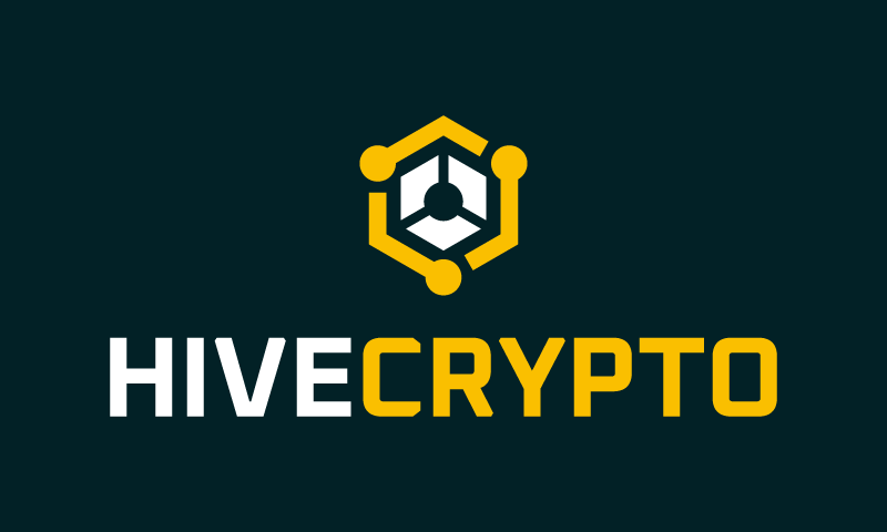 Hivecrypto - Cryptocurrency company name for sale