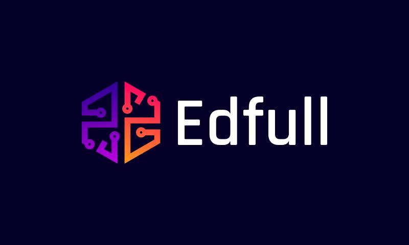 Edfull - Education brand name for sale