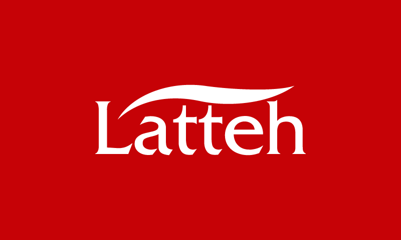 Latteh - Food and drink company name for sale
