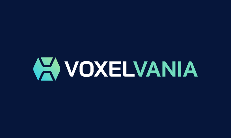 Voxelvania - Technology business name for sale