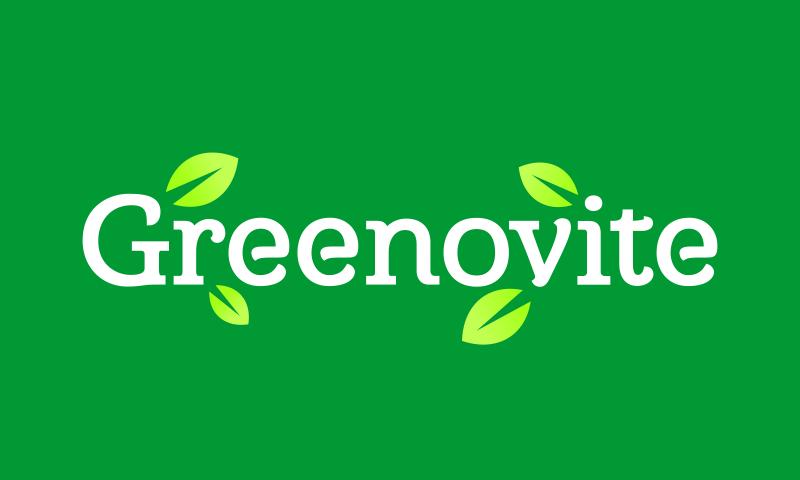 Greenovite - Playful domain name for sale