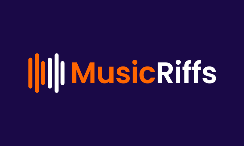 Musicriffs - Music brand name for sale