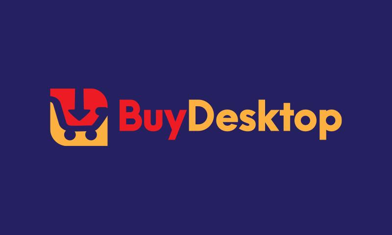 Buydesktop - E-commerce brand name for sale