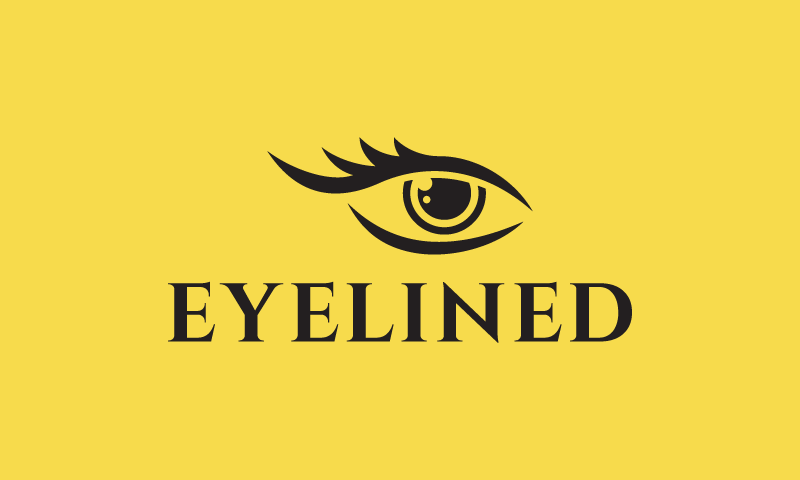Eyelined - Beauty business name for sale