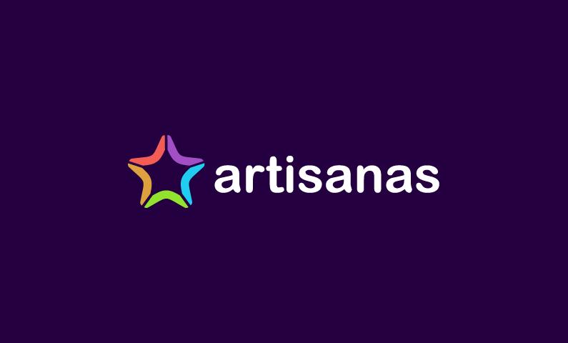 Artisanas - Contemporary domain name for sale