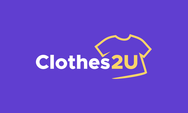 Clothes2u - Clothing domain name for sale