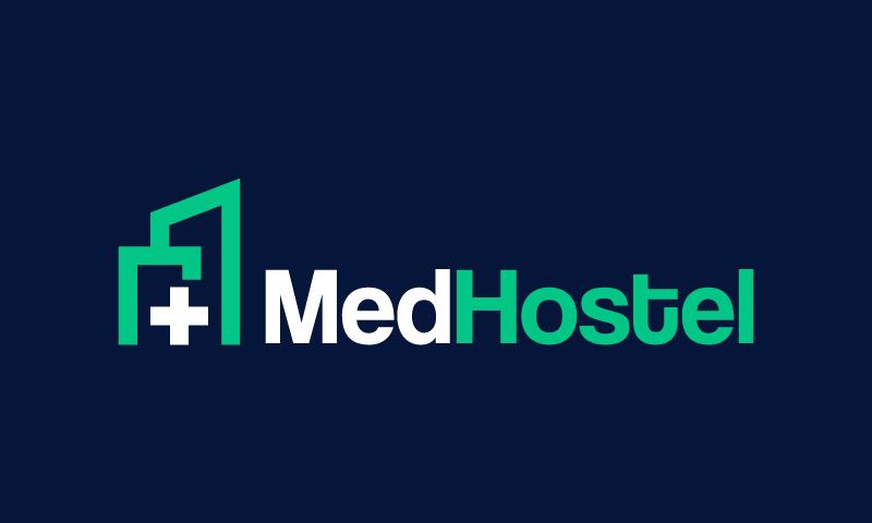 Medhostel - Healthcare startup name for sale