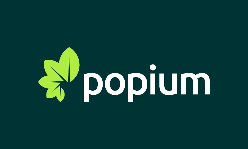 Popium - E-commerce product name for sale