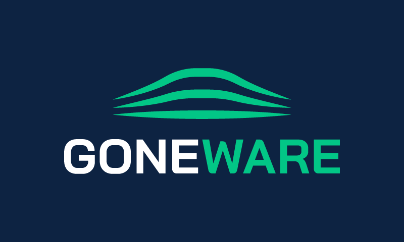 Goneware - Technology startup name for sale