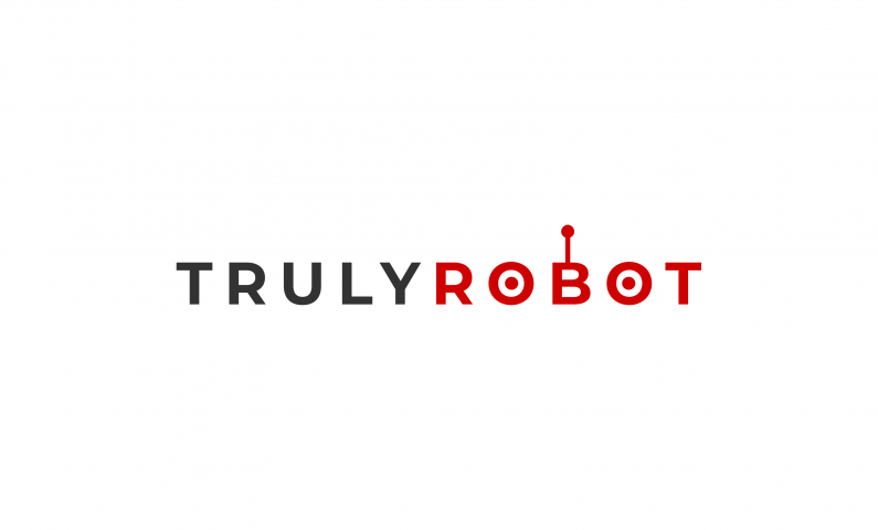 Trulyrobot - Inspirational name for a robotics brand